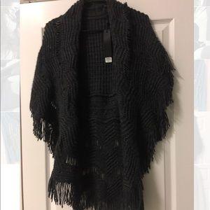 NWT buckle vest/cardigan